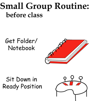 Before Class - Small group routine