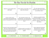 Before During After Non-Fiction Reading Comprehension Tic-Tac-Toe
