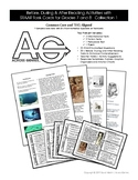 Before, During & After Reading Activities with Task Cards for Grades 7-8: Set 1
