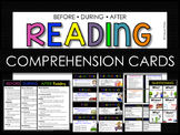 Before, During, After Reading Comp Cards (RL 1 Ask & Answe
