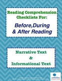Before, During & After Reading Strategies