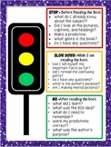 Before, During & After Traffic Light Themed Reading Questions