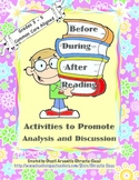 Before, During, and After Reading Activities for Print or TpT Distance Learning