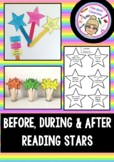 Before, During and After Reading Stars