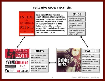 Before, During and After Reading for Grades 7 & 8:  Persuasive Text Lesson 1