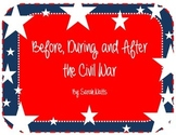 Before, During, and After the Civil War
