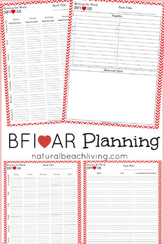 Before Five In A Row (BFIAR) Planning Pages