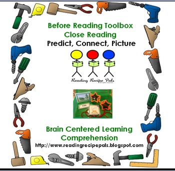 Before Reading Strategy Toolbox for Close Reading
