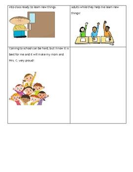 Before School Social Story