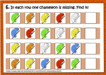 Before Sudoku. Chameleon: What is missing? Logic set.