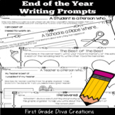 End of the Year Writing Activities | Social Emotional Learning Prompts