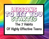 Before You Begin The 7 Habits of Highly Effective Teens