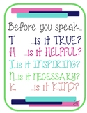Before You Speak Poster