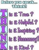 Before You Speak....T.H.I.N.K.
