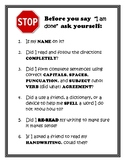 Before You Turn It In Checklist