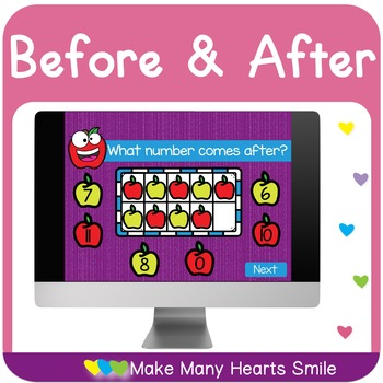 Before and After Interactive Notebook Activity