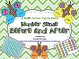 Before and After - A Math Center Puzzle Game