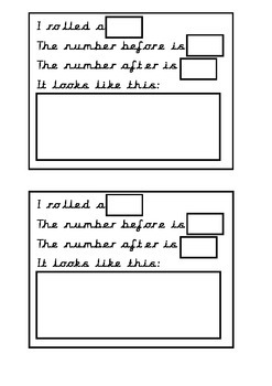 Before and After Number Activity