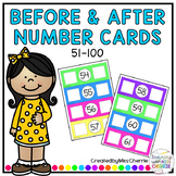 Before and After Number Cards *51-100*