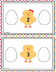 Easter Counting Before and After Numbers 1-20