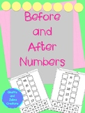 Before and After Numbers