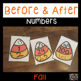 Before and After Numbers Fall