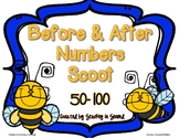 Before and After Numbers Scoot (50-100)