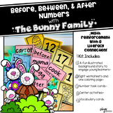 Before and After Numbers with the Bunny Family