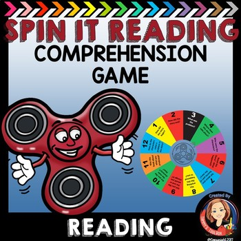 Before and After Reading -  Spin It for Reading Comprehension