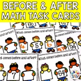 Before and After Task Cards Count to 100