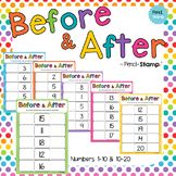 Before and After - Sequencing Numbers 1-20