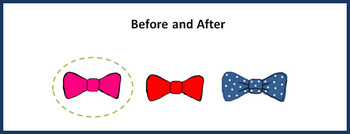Before and After Worksheet for Pre K