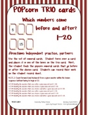 Before and After numbers 1-20 - CCSS {K & 1st grade}