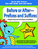 Before or After: Prefixes and Suffixes