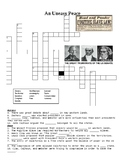 Before the Civil War Crossword of Web Quest