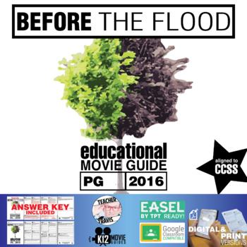 Before the Flood Documentary Movie Guide | Questions | Worksheet (PG - 2016)