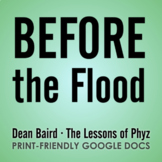 Before the Flood - Video Question Set