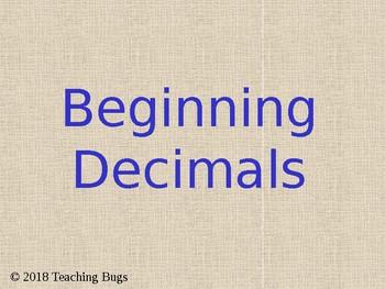 Begging Decimals