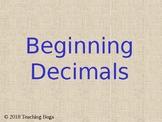 Beginning Decimals