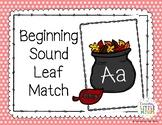 Beggining Sound Leaf Match