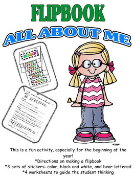 Back to School: All About Me Flipbook