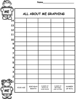 Begin the Year Graphing: All About Me