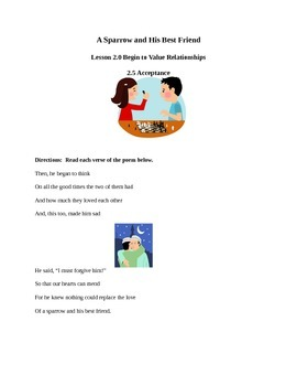 Begin to Value Relationships