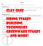 Beginer Pottery Clay Quiz