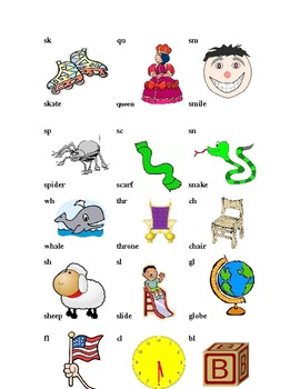 Begining Blends and Digraphs