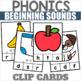 Beginning Sounds Center Games Bundle