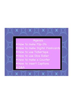 Beginner ActivInspire Part C