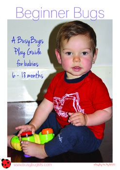 Beginner Bug Kit - games to play with 6-12 month babies.