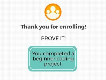 Beginner Coder Digital Badge