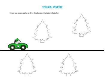 Beginner Cutting Practice Straight Line